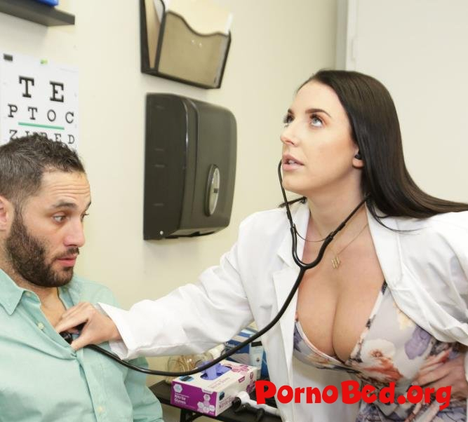 Angela White - Angela White Is A Hot Doctor That Cures Her Patients Erectile Dysfunction (BangTrickery, Bang) (07.03.2019 | FullHD)