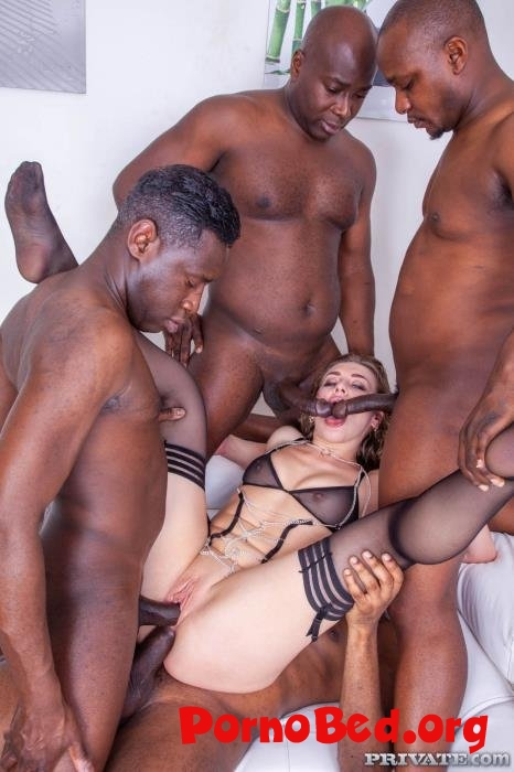 Liberta Black - Liberta Black Debuts with Extreme Interracial Gangbang (Private) (06.04.2019 | HD)
