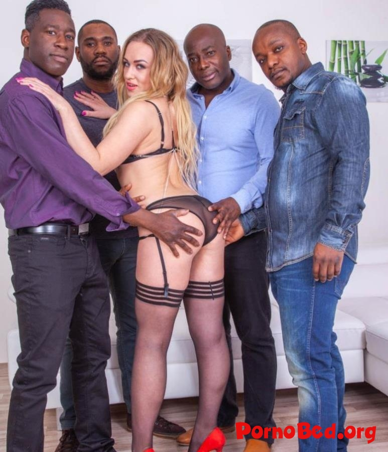 Liberta Black - Debuts with Extreme Interracial Gangbang (Private) (2019 | FullHD)