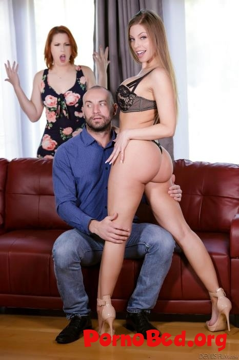 Britney Amber,Edyn Blair - My Husband Brought Home is Mistress 13, Scene 2 (DevilsFilm) (21.04.2019 | FullHD)