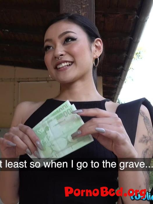 Rae Lil Black - Japanese beauty fucks for cash (PublicAgent) (03.09.2019 | FullHD)
