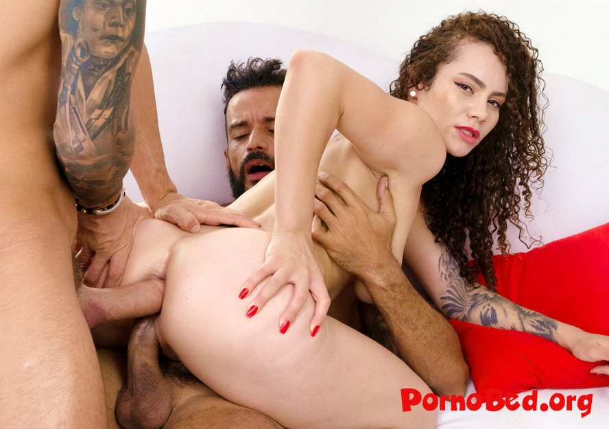 Dana Curly - Hot Latina Dana Curly Gets Her First DP And DVP SZ2318 (2019 | SD)