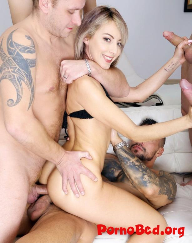 Vicky Sol - Drowned In Piss, Vicky Sol 6 On 1 Insane Watersport With Manhandle Balls Deep Anal, DAP, Gapes And Swallow GIO1341 (2020 | SD)