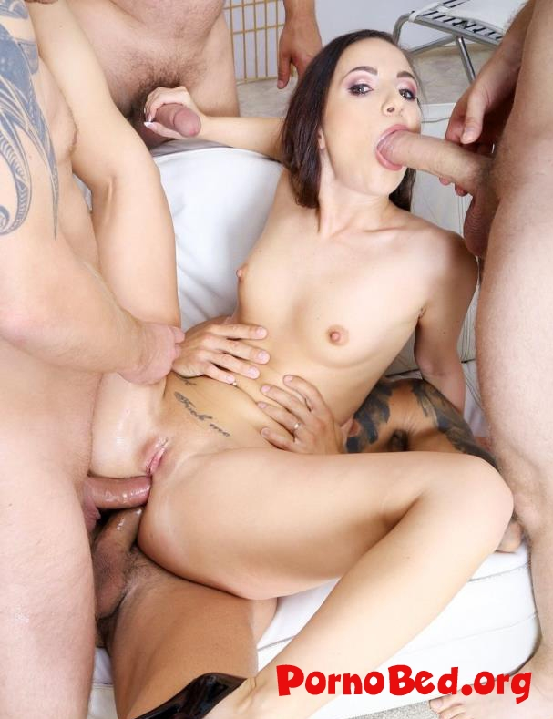 Kristy Black - Fucking Wet, Kristy Black 4 On 1 Balls Deep Anal, Gapes, Pee Drink And Facial GIO1492 (2020 | SD)